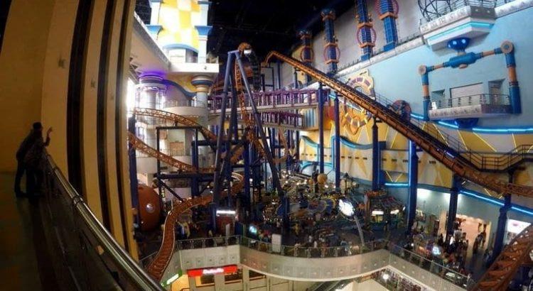 Berjaya Times Square Theme Park achtbaan